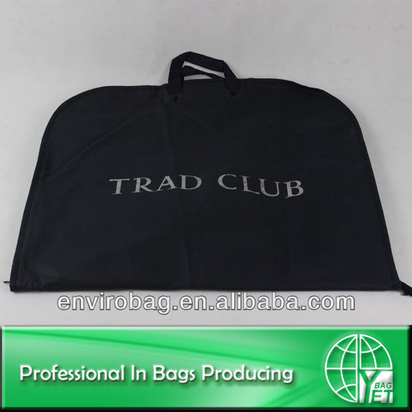 100% Recycled Non Woven Zippered Garment Bag