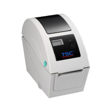 TSC TDP225W thermal wristband printer quality bar code printing machine with one year warranty no need ribbon