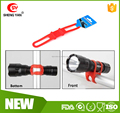 Security Cycling Bike Bicycle Silicone Band Flash Light Flashlight Phone Strap Tie