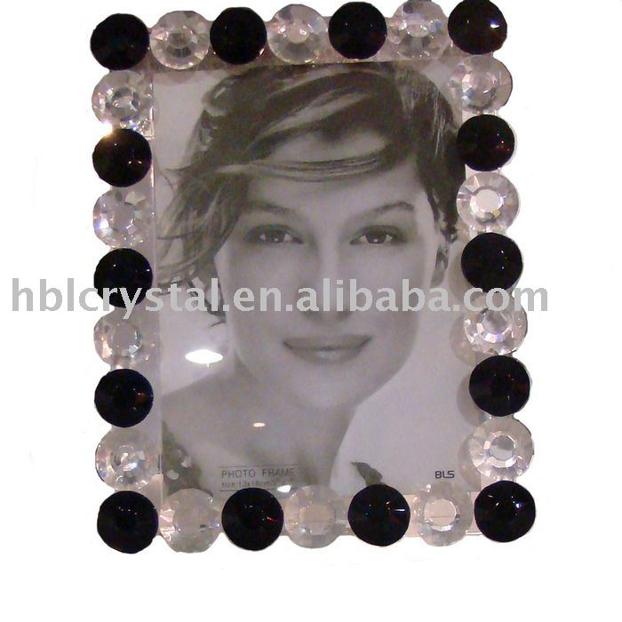 Nice crystal photo frame