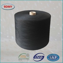 100% polyester yarn doped dye color top grade 20s/3