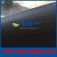 Electrically conductive plain/twill 3k 200g carbon fiber fabric 2x2