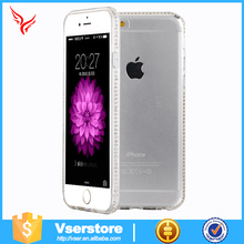 Wholesale high quality Diamond New Clear TPU Case for iPhone 6