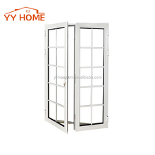 Soundproof office swing half doors fiberglass aluminum swing door