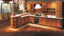 Modular kitchen cabinet French Classic Solid Wood/MDF/Plywood/HMR Kitchen Cabinets Design
