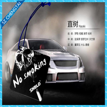 2016 new car scent hanging paper car perfume as car shaped promotional gift