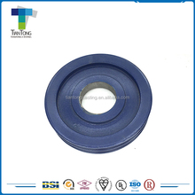 OEM service customized zinc plated variable speed cast iron pulley
