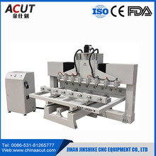 12 Spindles Multi Heads 3D CNC Router/cnc router 4 axis/automatic wood carving machine