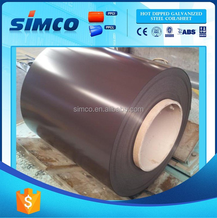 Low Cost High Quality ppgi dx51d color coated steel