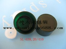 Plastic screw bottle caps double wall 20/410
