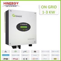 Iso14001 Solar Manufacturer Single Phase Dc To Ac 220 Vac Grid Tie Inverter 3000 W For On Grid Solar Power System