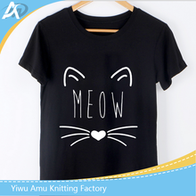 Women T-Shirt Harajuku 2017 Summer Tops Cute Cat Print Kawaii tshirt Tee Shirt Femme Camiseta T Shirt Female Tee
