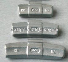 Fe Steel Wheel weights clip on balance weight