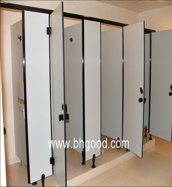 12mm Restroom Partitions Bathroom Stalls And Toilet Partitions Hardware Suppl