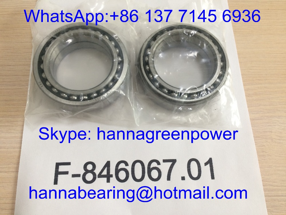 F846067.01 / F846067 01 Angular Contact Ball Bearing ; F-846067.01 / F-846067 01 Gearbox Bearing 56*86*25mm