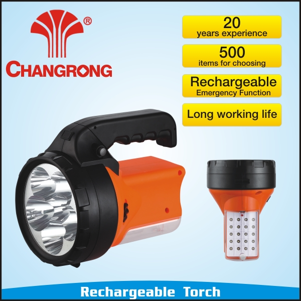 26pcs Led Emergency Flashlight Torch Lamp Rechargeable Light Camping Lantern