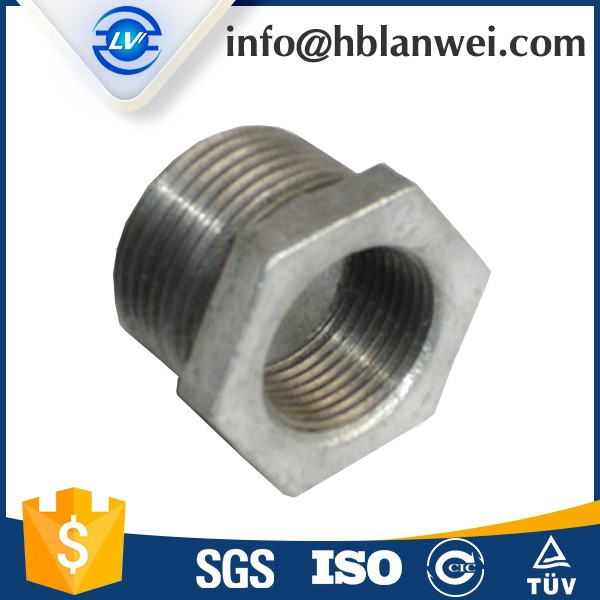 "China supplier 1"" socket Malleable Iron Pipe Fittings"