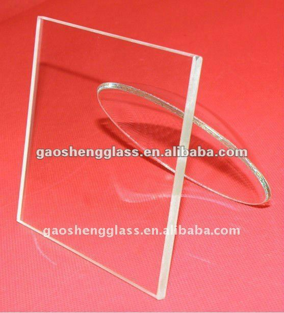 Purchase Heat Strengthened transparent solar glass sheets