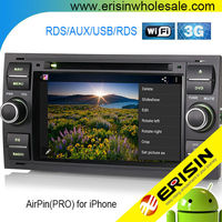 "Erisin ES2301F 7"" Android 4.4.4 Car Muiltmedia DVD Navigation System for Mondeo"