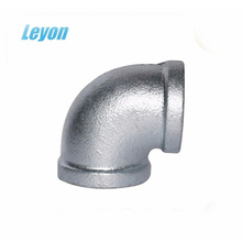 Casting Iron Forged Galvanized 90 degree bend female elbow pipe fittings 90 degree