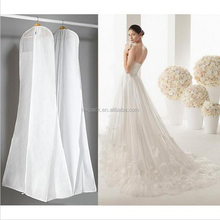 clear pvc plastic suit bags for wedding dress cover & garment bags