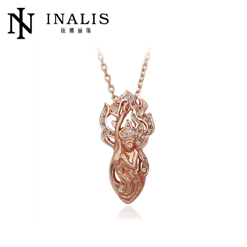 High quality New style 18K Rose Gold fashion gold jewelry necklace <strong>N100</strong>