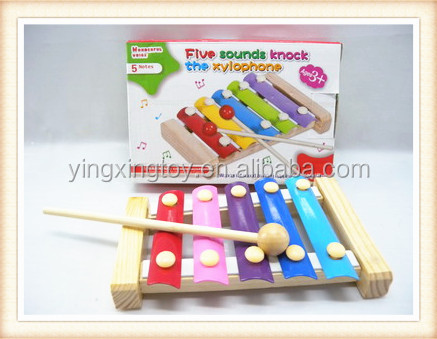 New product kids musical instrument xylophone wooden toy piano