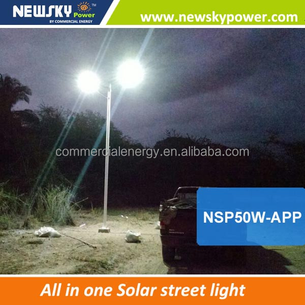2017 new design 100 watt solar led street light quotation format for solar street light