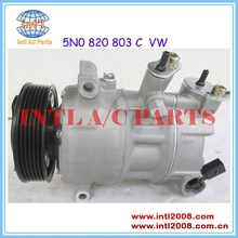 5N0 820 803 5N0 820 803 C 5N0 820 803 H 5N0820803 A/C Compressor for VW Golf 5 6 Touran Passat 3C Tiguan Scirocco Caddy Odtavia