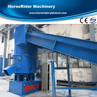 Plastic Recycling Granulating Production Line/Plastic Agglomerate Machine for PE Film Recycling