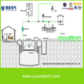 home biogas digester with biogas plant and biogas generator price