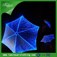 Newest led umbrella luminous umbrella for stage, dance, light up umbrella