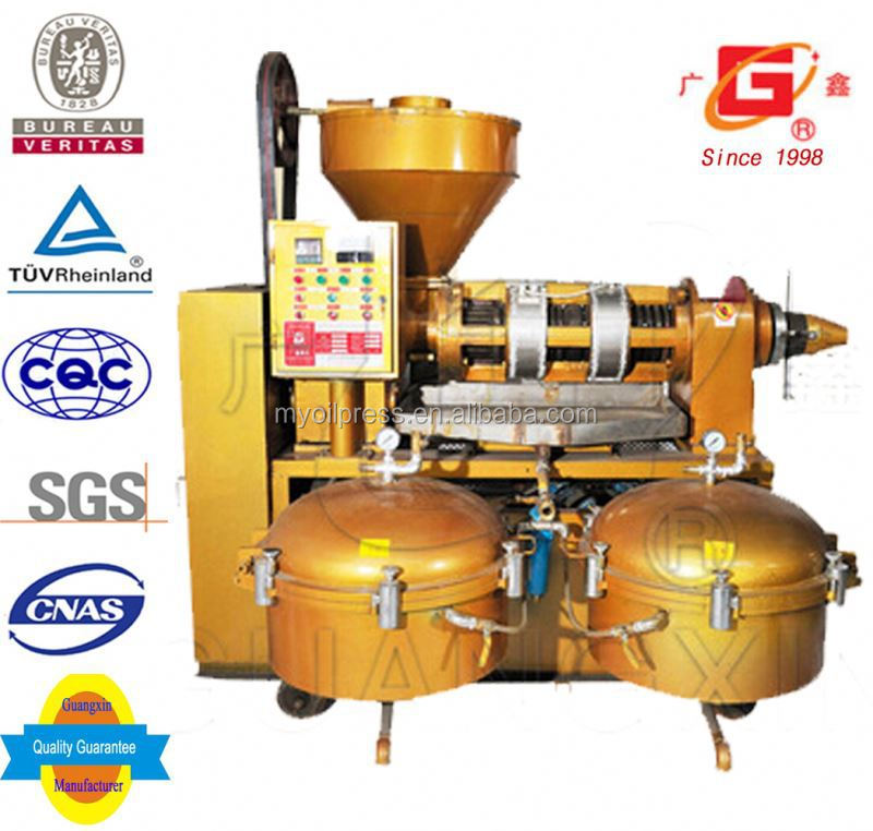 crude oil refinery sacha inchi seeds oil cold and heat spiral press big oil milling equipment with filter