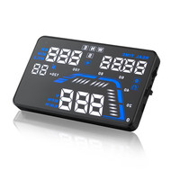New GPS HUD Q7Head up Display Car Electronics Blue and White LED Color HUD display