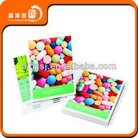 factory price free wholesale high quality art magazine print