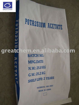 20 years experience of Potassium Acetate Tech Grade