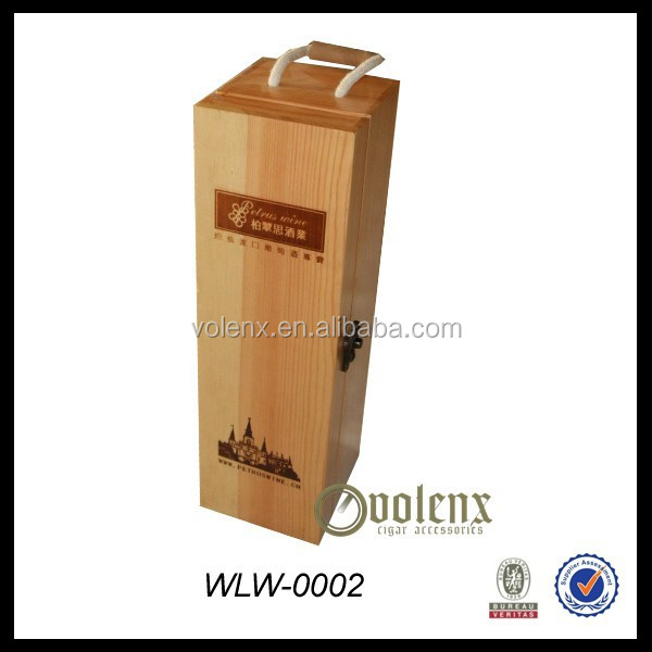 High quality Paulownia Wood Wine Box