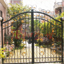 Home used iron gates models/wrought iron gate R0084