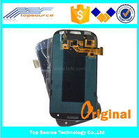 100% guarantee lcd for samsung galaxy s3 i9300 replacement touch screen with frame
