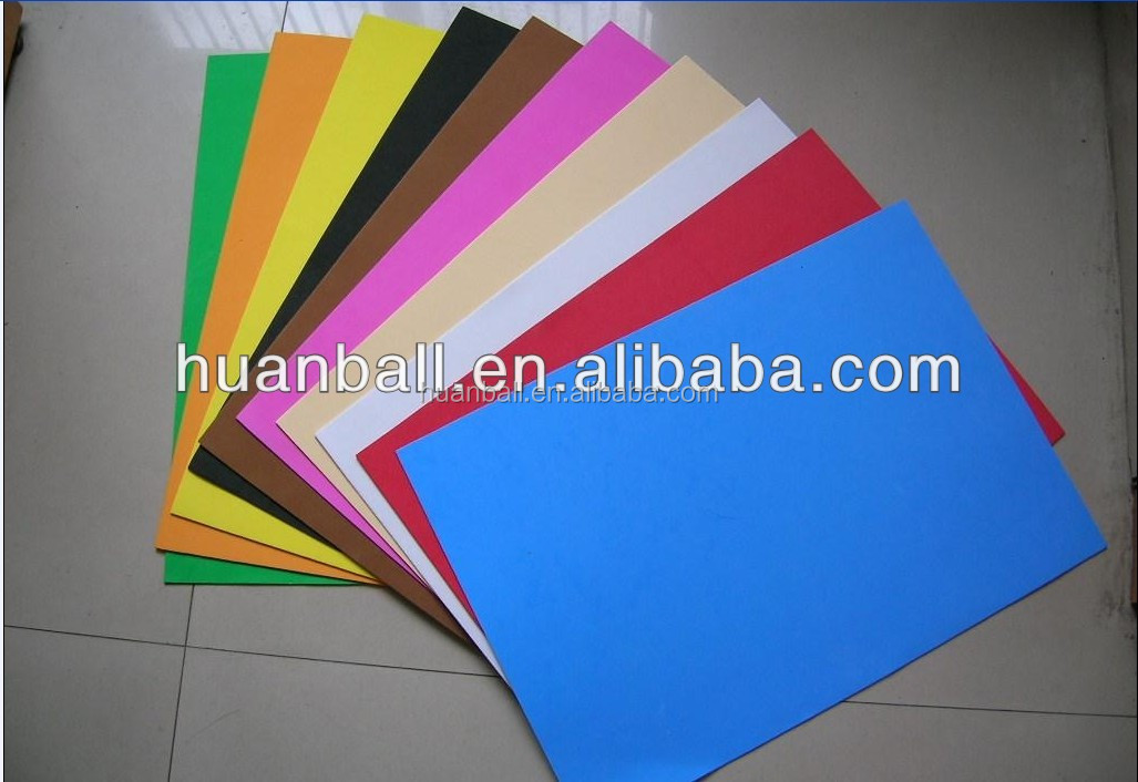 Colorful Hard Plastic Sheet with Varying Qualities
