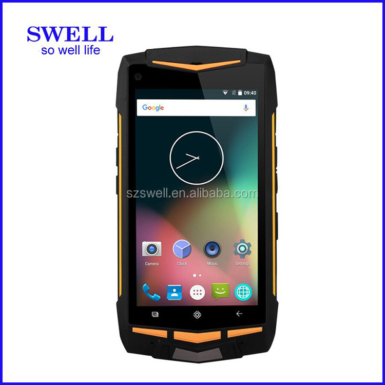 V1 UART po Octa core 1.7GHz Gorilla glass android5.1 NFC SOS button PTT walkie talkie 4g phone for verizon Two USB port android