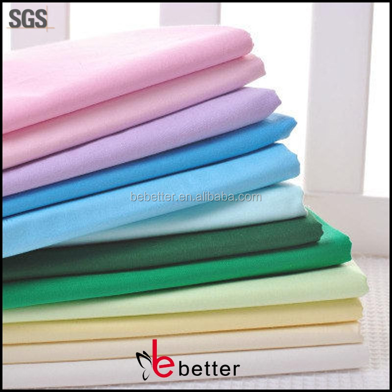 china products cotton cloth 100% 100 cotton fabric for t-shirt fabrics textiles white poplin material