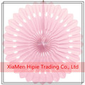 Handmade Tissue paper fan decoration party hanging Pink paper fans