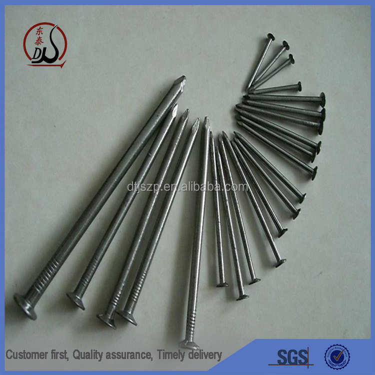 1inch high quality black /galvanized zinc common nail carbon steel wire nail steel iron nail