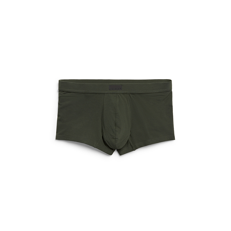 Full support plain color cotton kids underwear for men