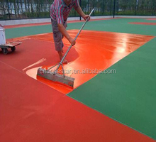 Weather Resistant Polyurethane Basketball Court Floor Coating