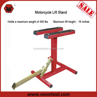 China Hot Selling Product Customized Zinc Coated Red Motorcycle Scissor MX Lift Stand For Sale
