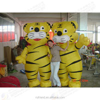 Since inflatable movable cartoon, inflatable tiger model