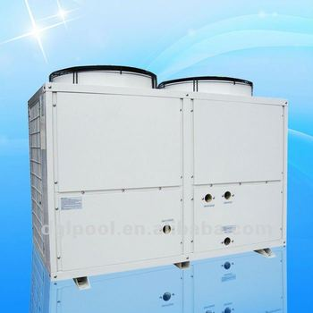 Air Source Heat Pump Water Heater Powder Coated Swimming Pool Heat Pump For Low Temperature