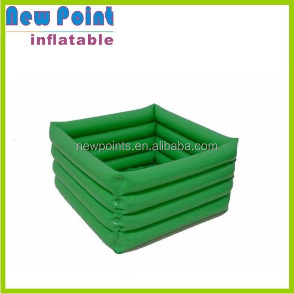 green PVC kids inflatable best pool toys for sale